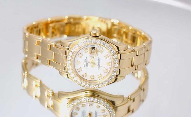 Роскошные Часы Наручные Женские Rolex Date