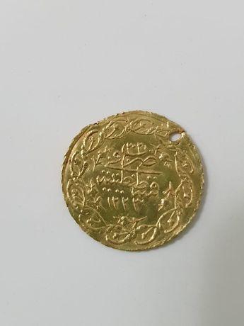 Подлинная золотая монета Османской Империи
