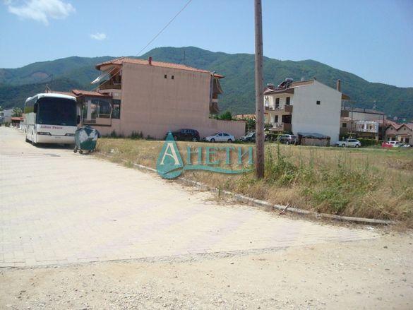 УПИ 2075 м2 на плажа в курортно селище Ставрос, първа линия, Гърция