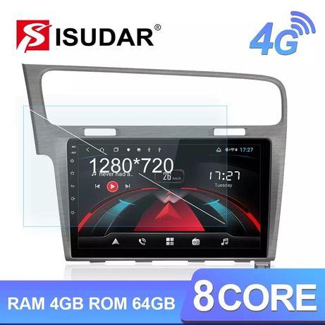 Navigatie GPS Isudar H53 Android 8.1 VW Golf 7
