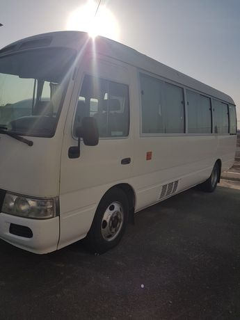 Долгосрочная аренда автобуса тойота костер