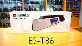 Element 5 T86 Зеркало видеорегистратор с камерой заднего вида!Оригинал