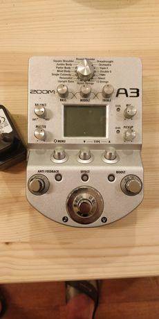Zoom A3, preamp acustic, modeller