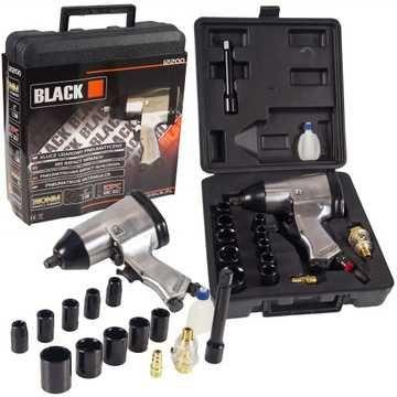Pistol pneumatic cu impact 310Nm + tubulare 9-27mm (12200)