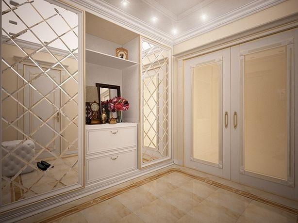 Зеркальное панно с фацетом для мебели и интерьера на заказ