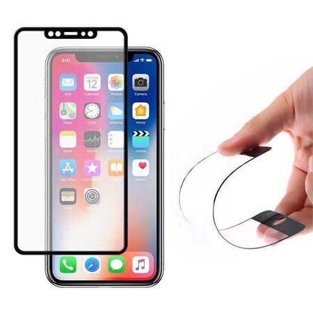 Folie Flexibila Sticla full ecran iPhone X XS Max XR 11 Pro 11 Pro Max