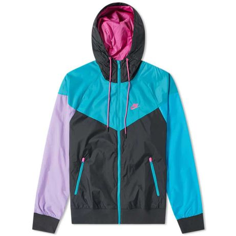 Geaca Nike Windrunner Jacket Black/Teal M
