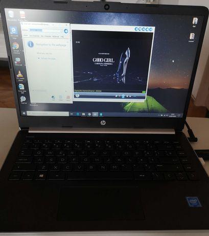Laptop ultra light HP 14s-dq0001nq, 14'',Win10,stare perfecta,garantie