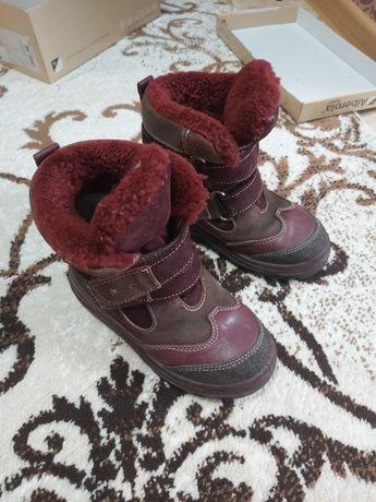 Продам зимние ботиночки фирма КОТОФЕЙ!!!