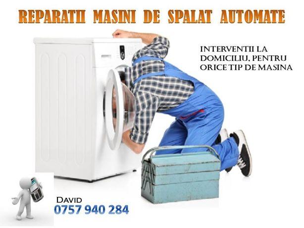 Reparații mașini de spălat - AUTOMATE