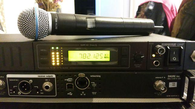 Microfon profesional Shure UD 24 beta 58a scena