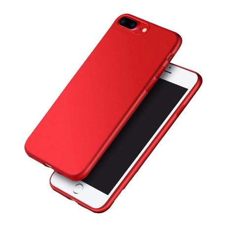Husa Ultra Slim iPhone 7Plus, 8Plus, Luxury Elegance Rosu