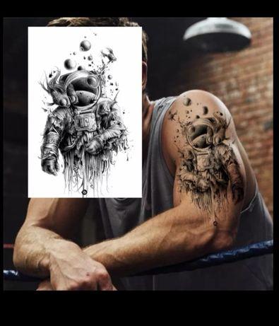 Временные тату отличного качества, в обычном и аниме стиле