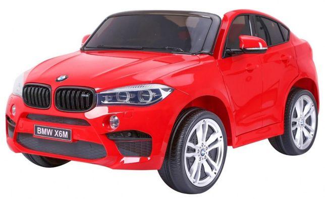 Masinuta electrica pentru copii BMW X6M XXL cu 2 locuri, roti EVA Rosu