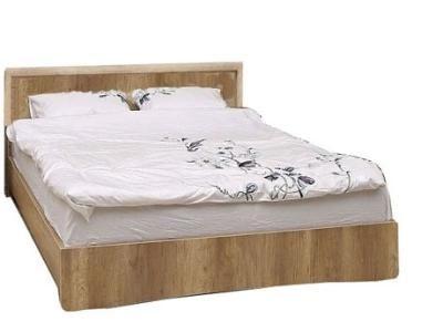 Кровать 140 Турин П036.125М Пинскдрев Сосна карелия, Дуб. В наличии