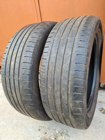 2 бр. летни гуми 215/55/17 Continental DOT 3715 4 mm
