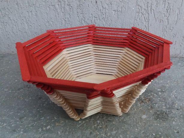 Vand obiecte handmade din lemn (bete/lopatele de inghetata)