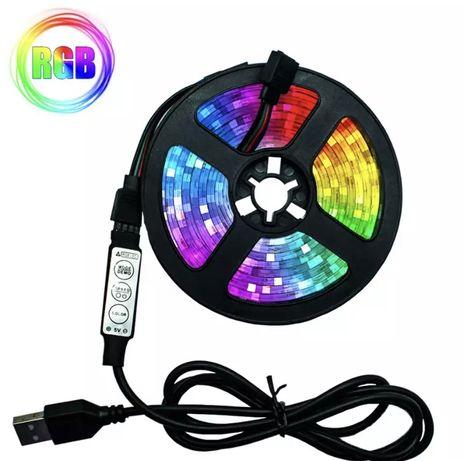 Bandă LED uri RGB 2 metri