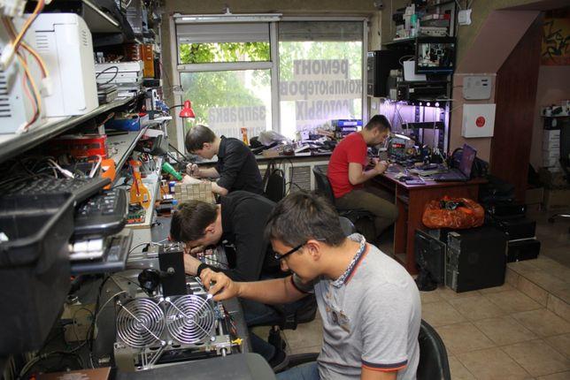 Ремонт в орбите, ноутбуков, xBox, PS, мониторов, принтеров.