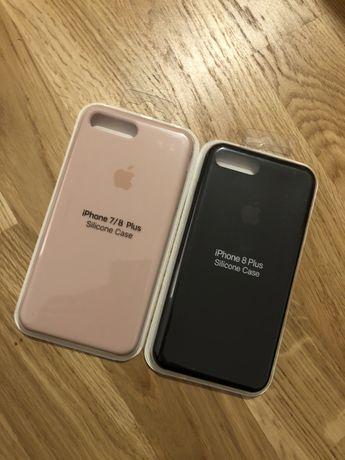 Silicon Case Iphone 7 8 Plus Husa Carcasa Apple
