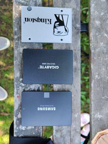 HDD2.5, HDD3.5 + SSD Kingston, WD, Samsung, Toshiba, Gigabyte, HGST