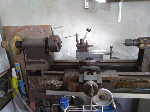 Vând strung artizanal metal/lemn