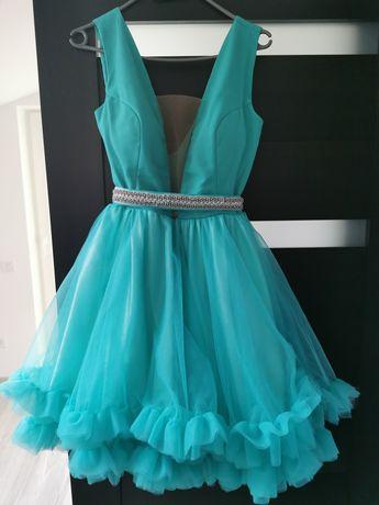 Rochie verde Foggi