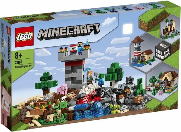 LEGO 21161 Minecraft Набор для творчества 3.0 новый оригинал !