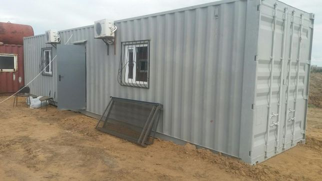 Переоборудование, утепление контейнеров, Контейнера жилые, бытовки.