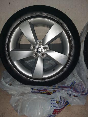"Jante 17"" 5x100 VW, Audi, Skoda"