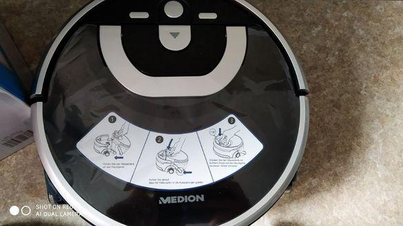 MEDION ILIFE MD18999 Прахосмукачка робот , ПОЧИСТВАНЕ С ВОДА