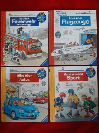 Vand carti in limba germana wieso,weshalb ,warum.