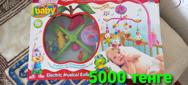Детский музыкальный мобиль