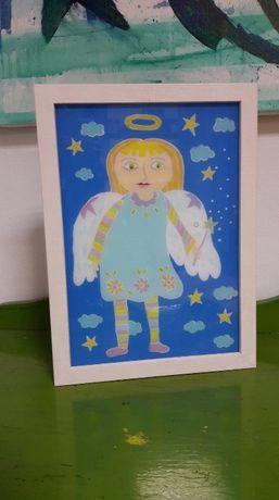 tablouri ~Ingerasii copilariei ~ pentru decorat camera copilului
