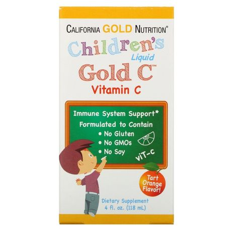 витамин C в жидкой форме для детей, 118мл