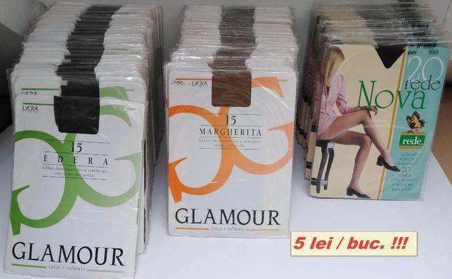 -50% Ciorapi dresuri strampi LYCRA Glamour Rede marimi 1 si 2 maro-uri