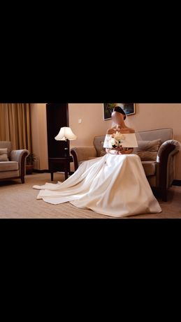 Свадебное платье трансформер на кыз узату и свадьбу