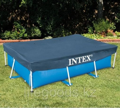 Тент для прямоугольных бассейнов Intex 300x200 купить в Алматы