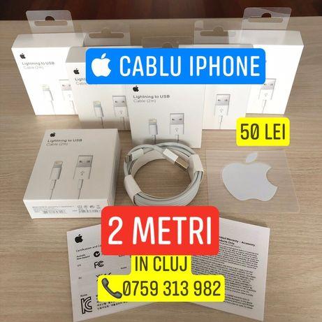 Încărcător Cablu  iPhone Apple 1/2 metri pentru 5,6,6s,7,8Plus,X,XMax