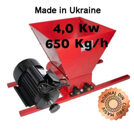 Zdrobitor struguri electric 4,0kw 650kg/h UCRAINA Teasc/presa