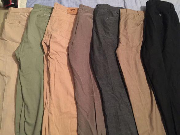 Лот мъжки официални панталони и дънки Armani Boss Replay Klein и др