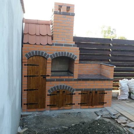 Construcții grătare de grădină