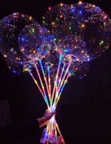 Baloane cu luminițe