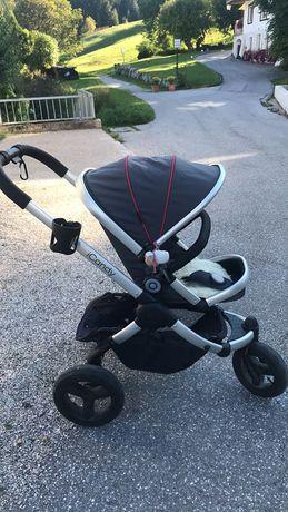Детска количка Icandy peach 3/1 (кошче за кола на be Safe )