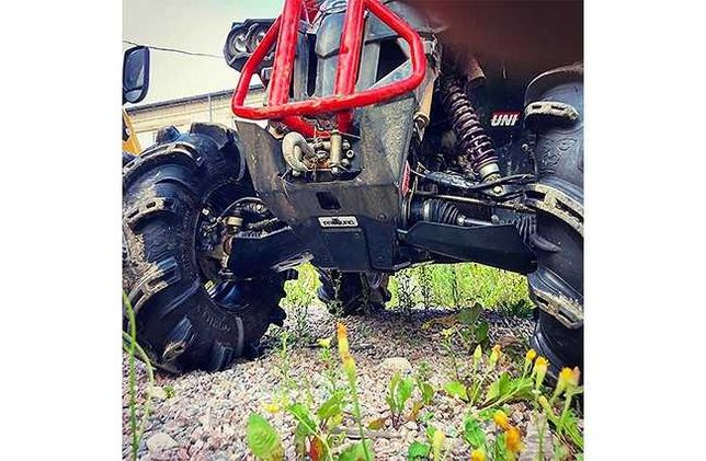 Scut protectie ATV full kit plastic Can-Am G2 Renegade 2017-2018