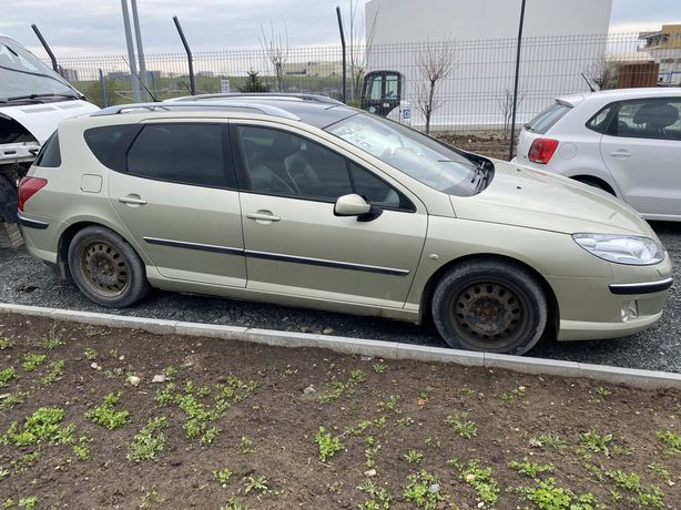 Dezmembrez Peugeot 407 2,0 Diesel ( interior piele , navigatie , trapa