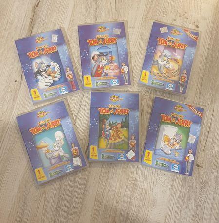Colectie 6 DVDuri desene cu Tom & Jerry