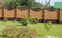Gard prefabricat decorativ din beton armat Teleorman