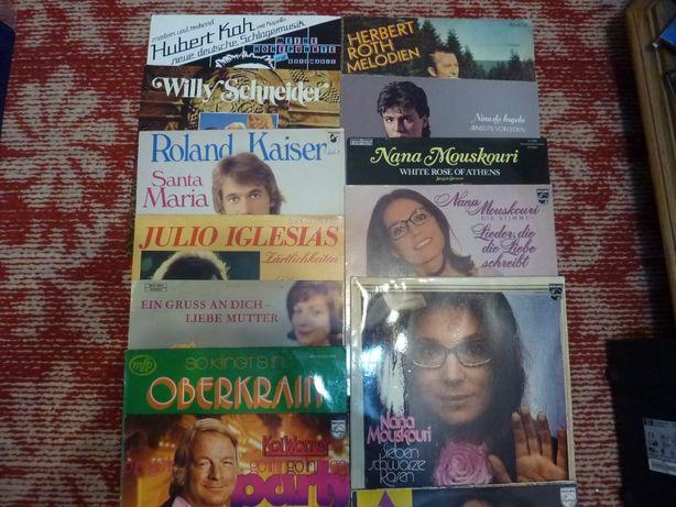 30 discuri vinil / vinyl muzica in lb. Germana , muzicieni celebri -1