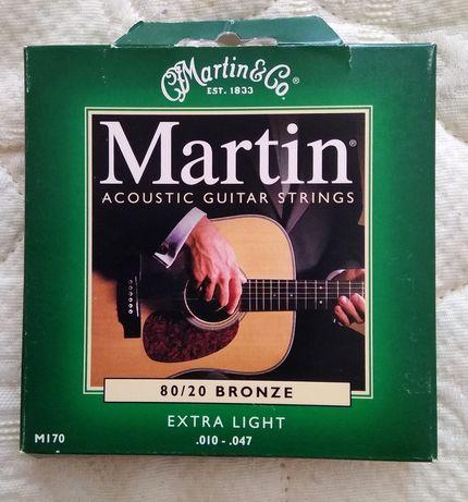 Струны Премиум класса Martin. Производство Мексика.